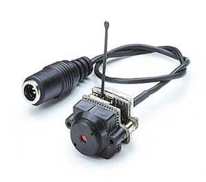 Minikamera s mikrofonem a bezdrátovým přenosem