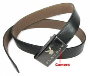 Skrytá kamera v pánském opasku s nahráváním audio-video