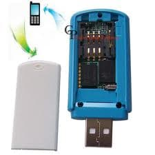 GSM štěnice - odposlech přenášený po GSM v provedení USB - vnitřek