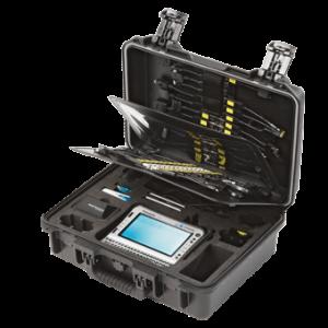 Mobilní kufřík vyčítacího zařízení pro použití v terénu
