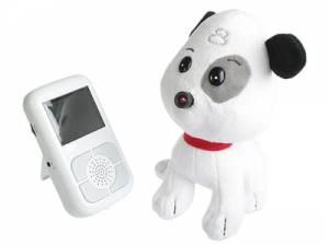 """Skrytá kamera s mikrofonem, tzv. """"Chůvička"""" v hračce - s bezdrátovým vysíláním obrazu a zvuku na přijímač"""