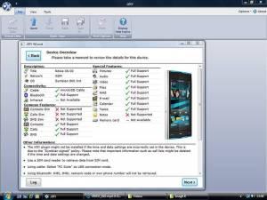 Program vyčítání obsahu telefonu zobrazí, co vše je možné z konkrétního typu telefonu zjistit
