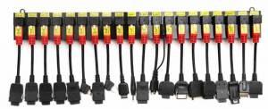Redukce pro připojení různých typů telefonů k vyčítacímu zařízení