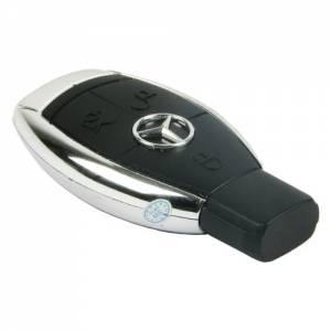 Skrytá kamera s odposlechem v klíči od vozidla Mercedes