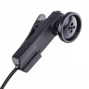 Minikamera v knoflíku pro živé přenosy - streamování.
